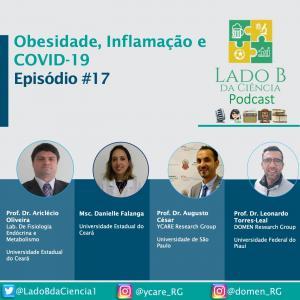 Episódio #17 – Obesidade, Inflamação e COVID-19 - c/ Dr. Ariclecio Oliveira e Dra. Danielle Falanga