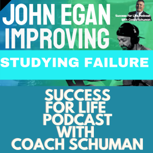 Studying and Learning From Your Failures an Interview with Jon Egan