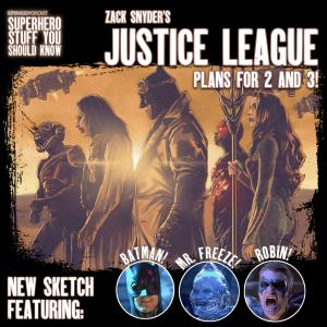 Zack Snyder's Justice League Plans for 2 and 3!
