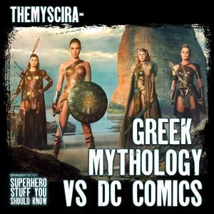 Themyscira - Greek Mythology VS DC Comics