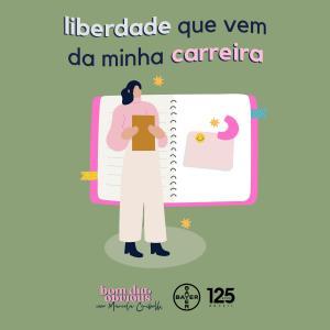 #101 / liberdade que vem da minha carreira, com Camila Coutinho