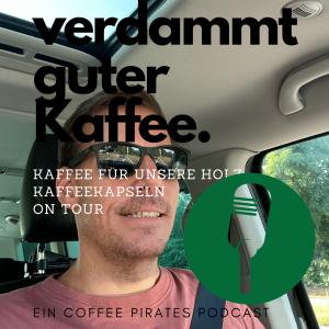 Patrick on Tour mit Nachschub für unsere Holz-Kaffeekapseln