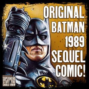 The Original, Forgotten BATMAN 89 SEQUEL Comic? (with John Hefner/About-Faces)